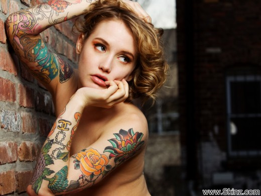 Emily Alex for Skinz