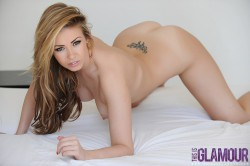 nude Leah Francis & her tramp stamp