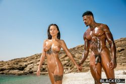naked pornstar Liya Silver